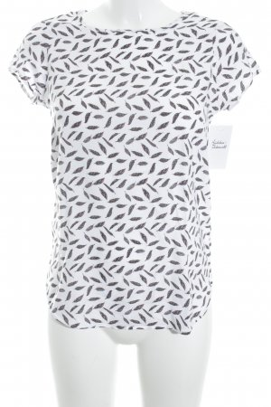 Vero Moda T-Shirt Allover-Druck Casual-Look