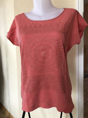 Vero Moda T-Shirt Gr M Korall