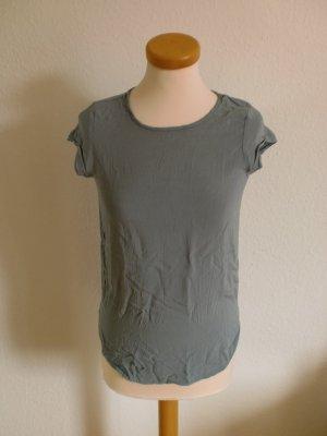Vero Moda T-Shirt grau blau neu