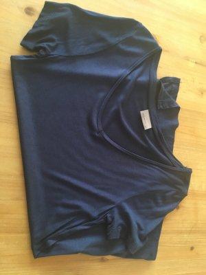Vero Moda T-Shirt, Longshirt dunkelblau Gr. XS - wie neu!