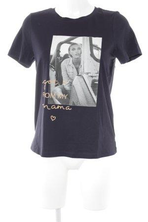 Vero Moda T-Shirt Motivdruck Casual-Look