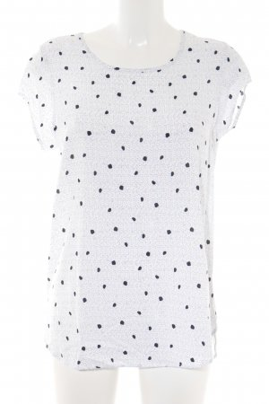 Vero Moda T-Shirt Punktemuster Casual-Look