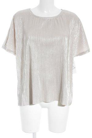 Vero Moda T-Shirt rosé Glitzer-Optik
