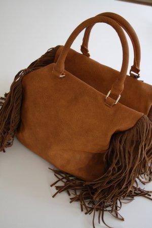 Vero Moda Tasche Shopper neu mit Schild Fransentasch
