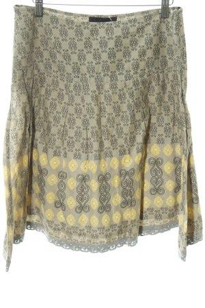 Vero Moda Falda circular estampado con diseño abstracto look casual