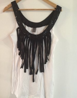 Vero Moda Top noir-blanc