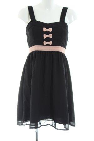 Vero Moda Trägerkleid schwarz-nude Elegant