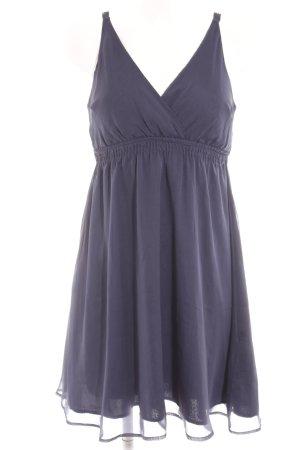 Vero Moda Trägerkleid dunkelblau Romantik-Look