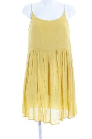 Vero Moda Robe à bretelles jaune foncé Look de plage