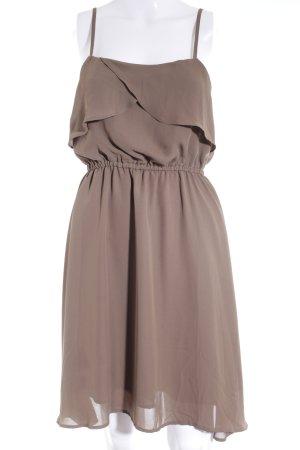 Vero Moda Trägerkleid graubraun Elegant