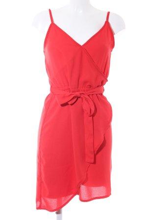 Vero Moda Trägerkleid rot Romantik-Look