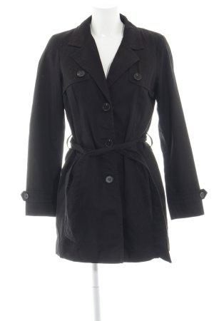 Vero Moda Trench Coat black business style