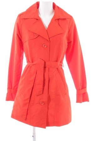 Vero Moda Trenchcoat rot klassischer Stil