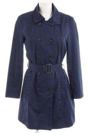 Vero Moda Trenchcoat bleu foncé style décontracté