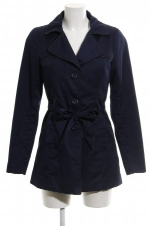 Vero Moda Trenchcoat dunkelblau-schwarz Casual-Look
