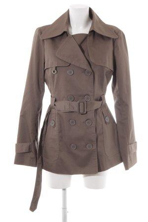 Vero Moda Trenchcoat graubraun klassischer Stil