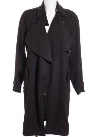 Vero Moda Trenchcoat schwarz Brit-Look