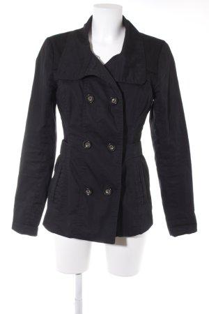 Vero Moda Trenchcoat schwarz Casual-Look