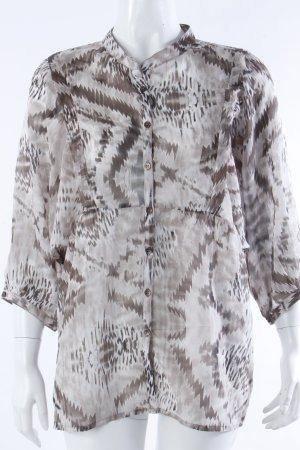 Vero Moda Tunika-Bluse graubraun