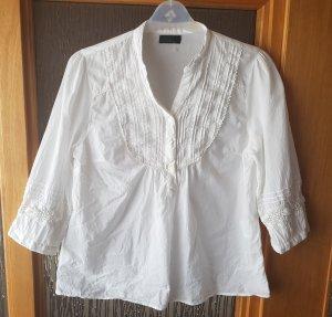 Vero Moda Tunika Bluse in weiß S A-Line 3/4 Armlänge
