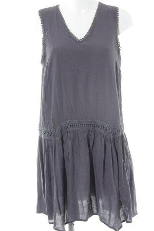 Vero Moda Tunikakleid graublau Boho-Look