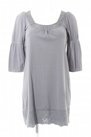 Vero Moda Tunic Dress slate-gray casual look