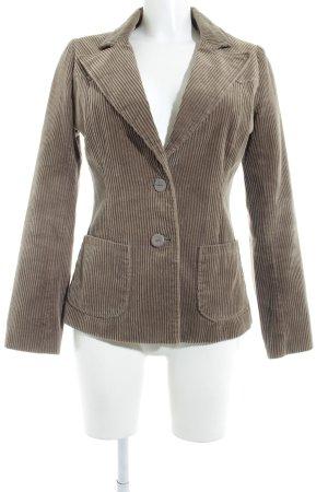 Vero Moda Tweed blazer grijs-bruin Britse uitstraling