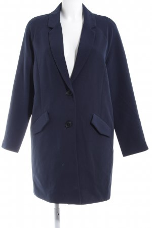 Vero Moda Übergangsmantel dunkelblau-beige Casual-Look