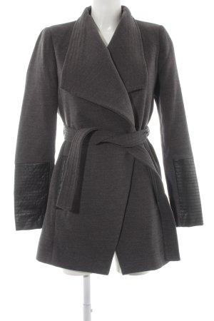 Vero Moda Übergangsmantel grau-schwarz Casual-Look