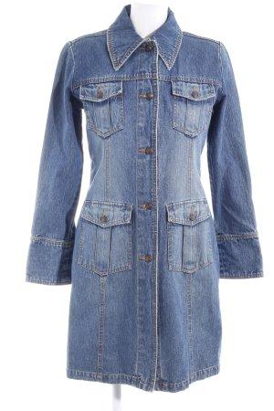 Vero Moda Übergangsmantel stahlblau Vintage-Look