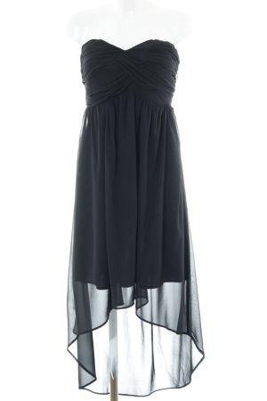 Vero Moda Vokuhila-Kleid schwarz Elegant