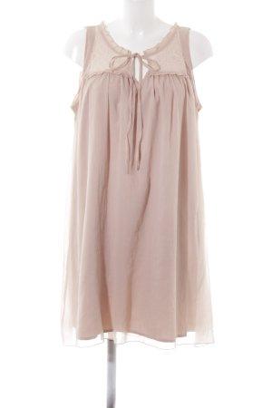 Vero Moda Vestido estilo flounce rosa empolvado look casual