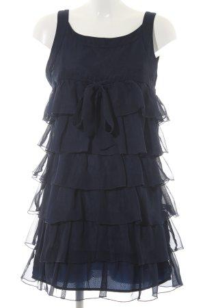Vero Moda Volantkleid dunkelblau Elegant