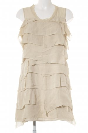 Vero Moda Volantkleid hellbeige Street-Fashion-Look