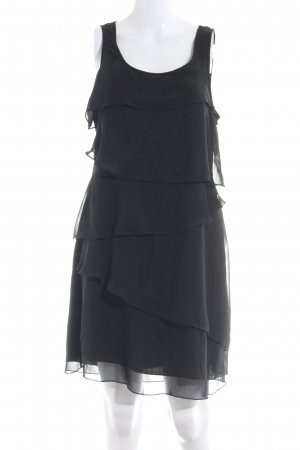 Vero Moda Robe à volants noir style décontracté
