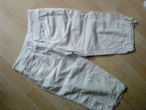Vero moda weiße Pumphose Caprilänge Größe 36/38