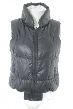 Vero Moda Reversible Vest black-white 2-in-1 look