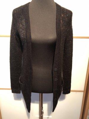Vero Moda Weste schwarz mit bunten Lurexfäden