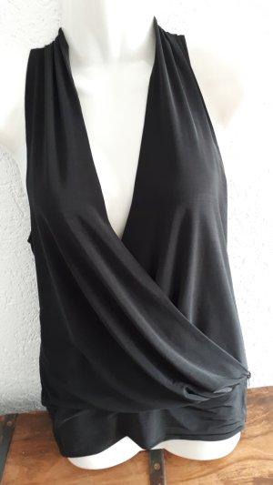 Vero Moda Maglietta aderente nero Tessuto misto