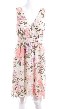 Vero Moda Wickelkleid Blumenmuster Casual-Look