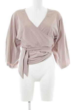 Vero Moda Wikkelshirt stoffig roze