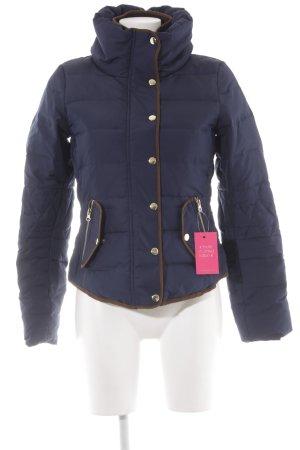 Vero Moda Winterjacke dunkelblau Casual-Look