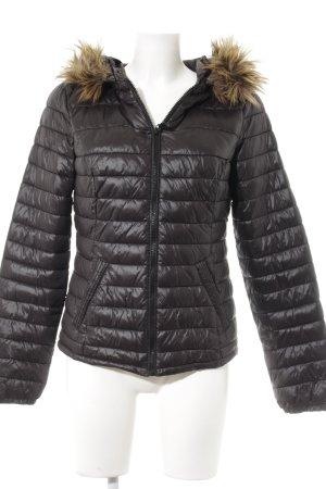 Vero Moda Winterjacke dunkelbraun Casual-Look