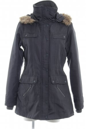 Vero Moda Winterjacke dunkelgrau Casual-Look
