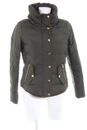Vero Moda Winterjacke dunkelgrün-braun Casual-Look