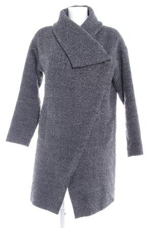 Vero Moda Chaqueta de invierno gris pizarra-azul acero look casual