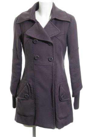 Vero Moda Winterjacke grauviolett Casual-Look