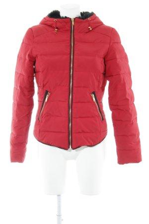 Vero Moda Winterjacke mehrfarbig Casual-Look