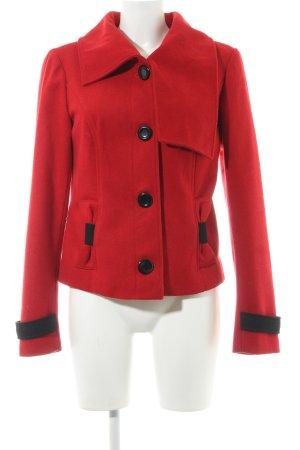 Vero Moda Winterjacke rot klassischer Stil