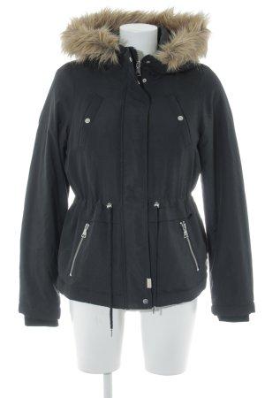 Vero Moda Winterjacke schwarz schlichter Stil